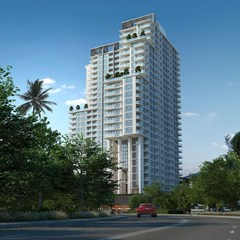 City Garden Tower - Condominium - Pattaya Central -