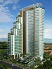 the peak towers - tower a penthouse thai company    for sale in Pratumnak Pattaya