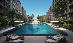 DUSIT GRAND PARK Resort Jomtien Re-Sale Condominiums for sale in South Pattaya