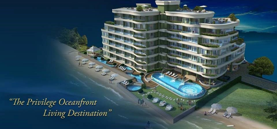 paradise ocean view Condominiums to rent in Naklua Pattaya